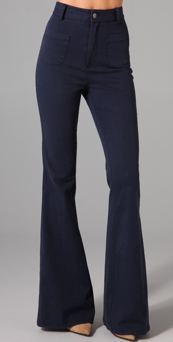 alice + olivia High Waist Bell Bottoms