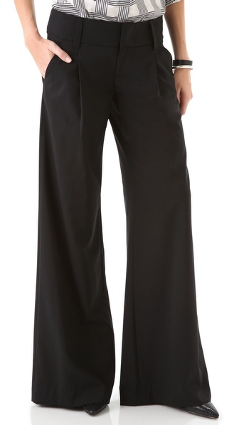 alice + olivia Eric Wide Leg Pants