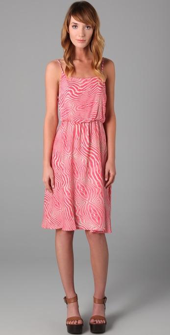 alice + olivia Print Pilar Tank Dress