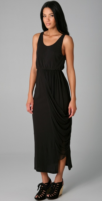 alice + olivia Rinn Jersey Long Dress