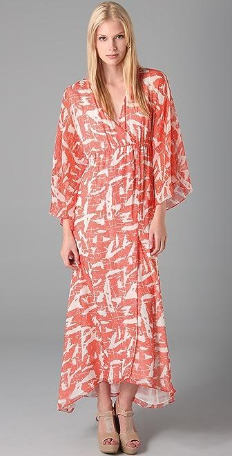 alice + olivia Hadley Long Kimono Dress