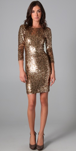 alice + olivia Breck Sequin Dress