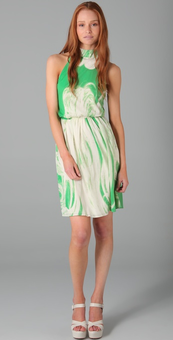 alice + olivia Debbie Print Dress