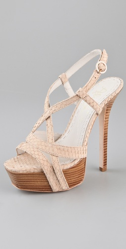 alice + olivia Leia Strappy Platform Sandals