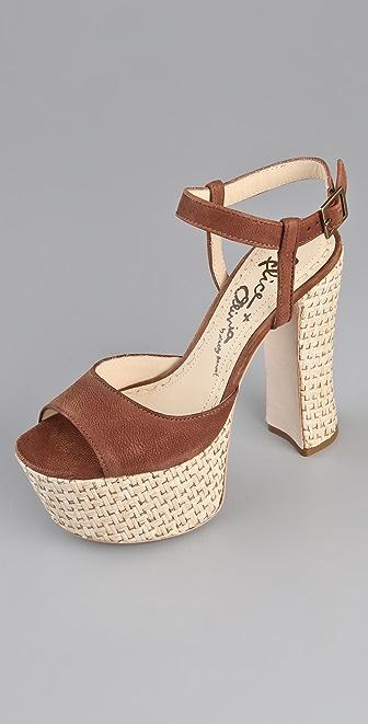 alice + olivia Thelma Platform Sandals