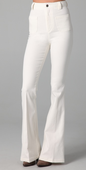 alice + olivia High Waist Bell Bottom Pants