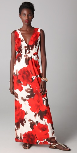 alice + olivia Nina Maxi Dress