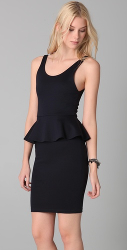 Alice + Olivia Tory Peplum Dress