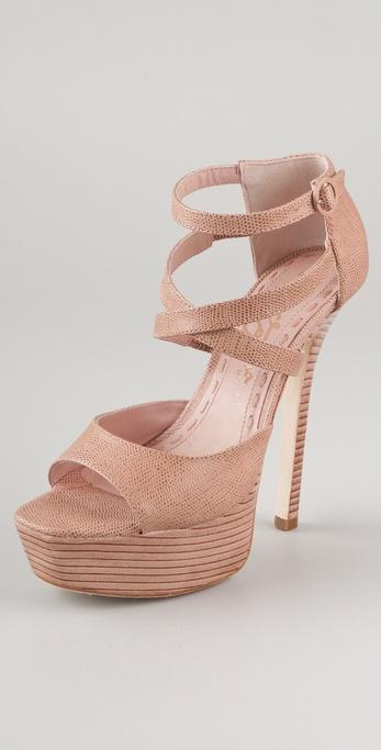 alice + olivia Laila Platform Sandals