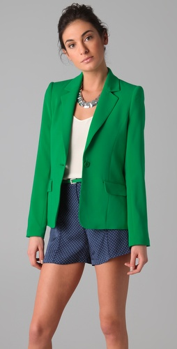 alice + olivia Elyse Blazer