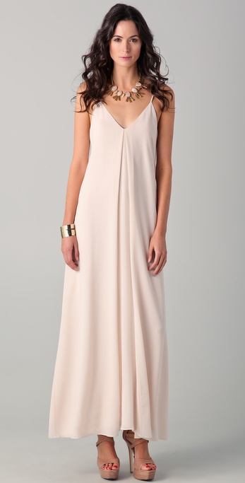 alice + olivia Adele Maxi Tank Dress