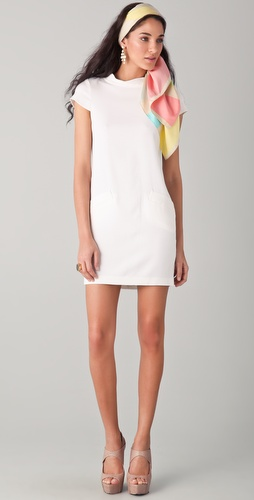 alice + olivia Diaz Boxy Shift Dress