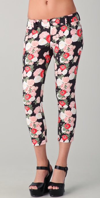 alice + olivia 5 Pocket Capri Pants