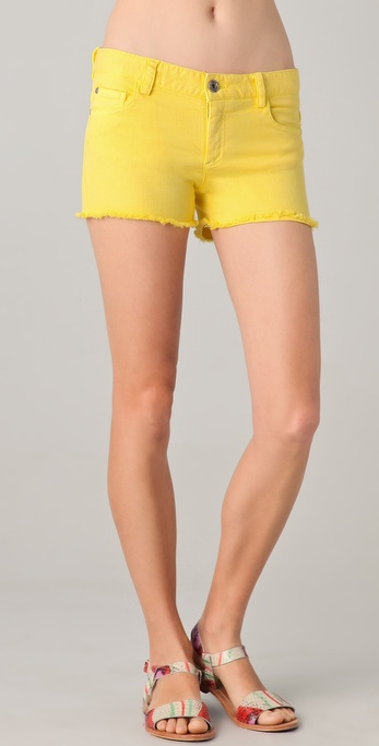 alice + olivia Five Pocket Hipster Shorts