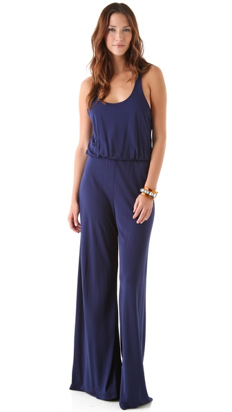 alice + olivia Racer Back Jumpsuit