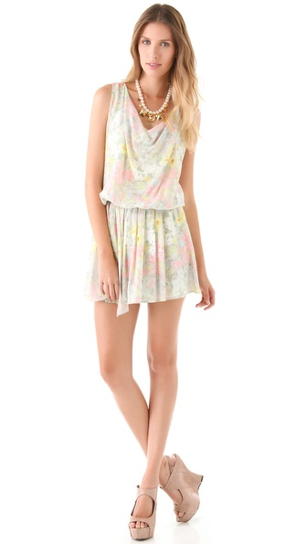 alice + olivia Sally Dropped Waist Dress