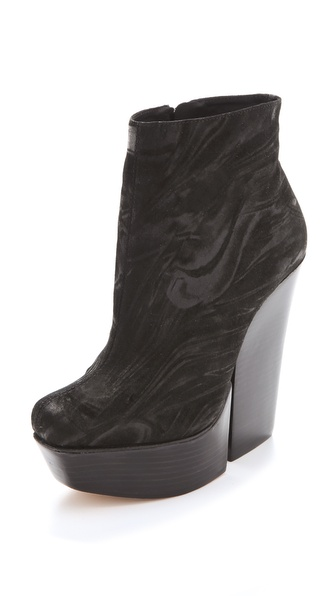 alice + olivia Urmila Platform Booties