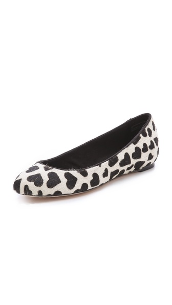 alice + olivia Dawn Haircalf Flats