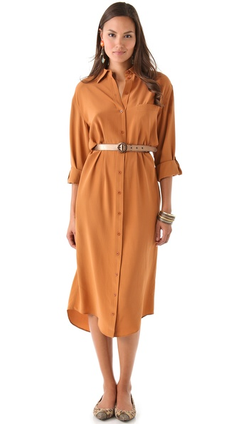 alice + olivia Aileen Shirtdress