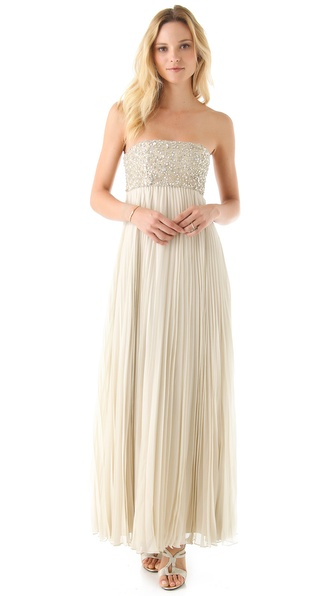 alice + olivia Sophia Maxi Dress