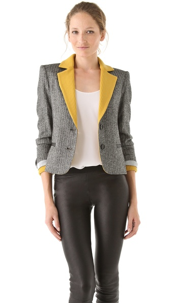 alice + olivia Karol Blazer