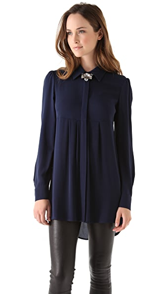 alice + olivia Woodley Tunic