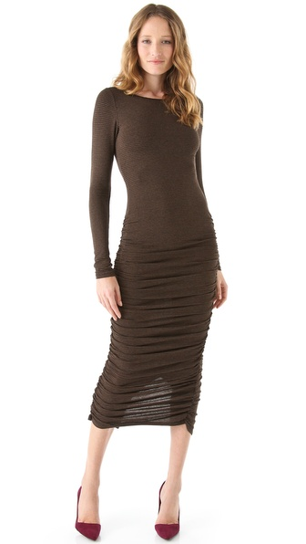 alice + olivia Camille Gathered Bottom Dress