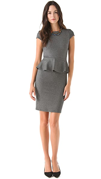 alice + olivia Adeline Peplum Dress