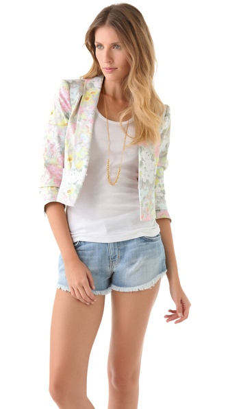 alice + olivia Joella Blazer