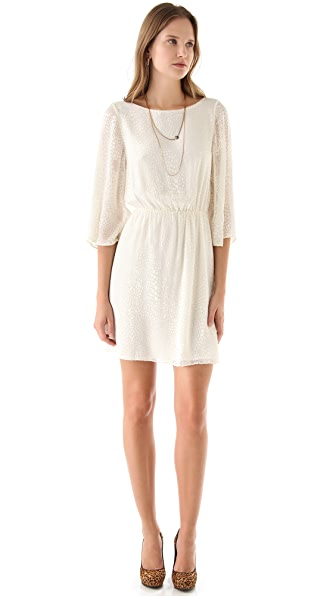 alice + olivia Marika Bell Sleeve Dress