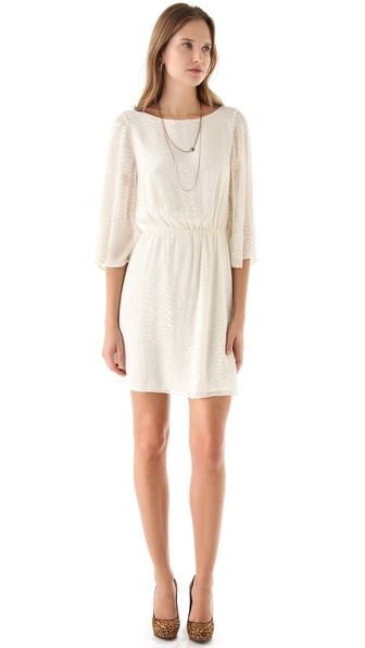 alice + olivia Marika Bell Sleeve Dress