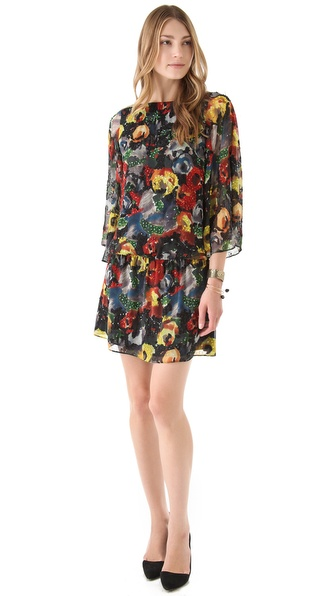 alice + olivia Hallie Blouson Dress