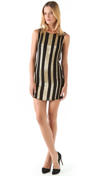 alice + olivia Randee Beaded Dress