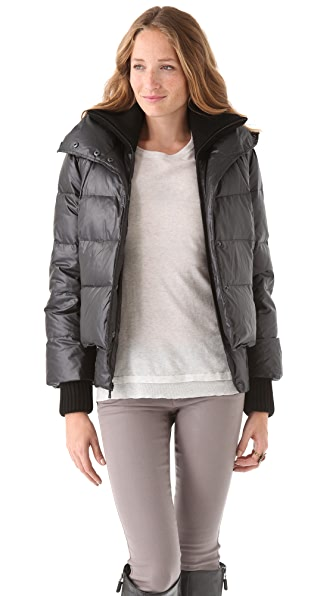 alice + olivia Judy Quilted Puffer Jacket