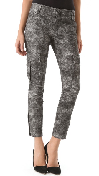 alice + olivia Skinny Cargo Pants