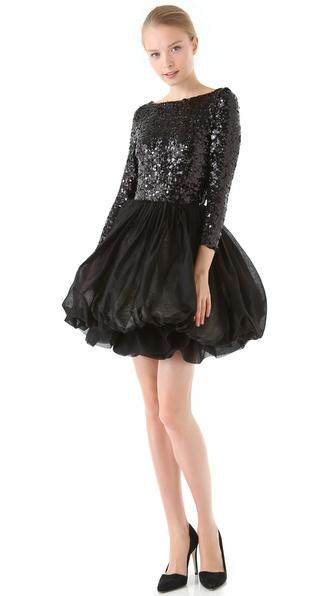alice + olivia Tella 3/4 Sleeve Dress