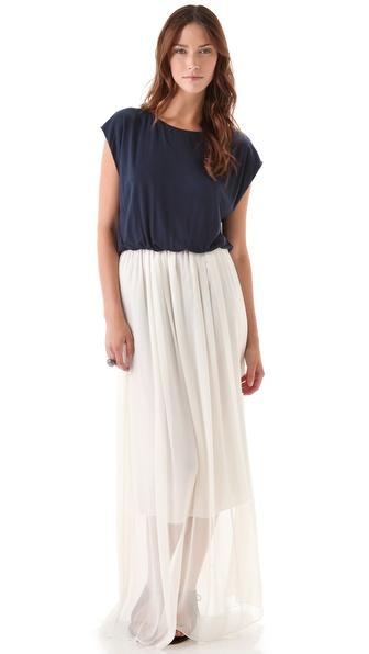 alice + olivia Cap Sleeve Maxi Dress