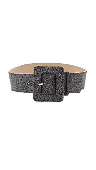 alice + olivia Caviar Beading Wide Belt