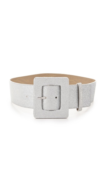 alice + olivia Sprinkle Glitter Wide Belt