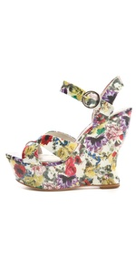 Alice + Olivia Juliet Platform Wedge Sandal