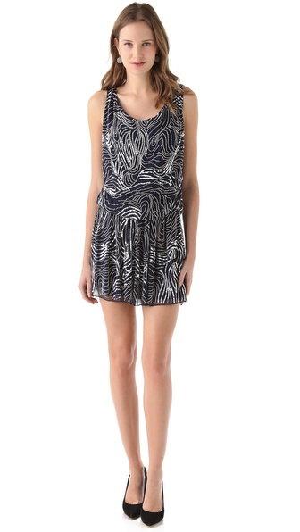 alice + olivia Cindy Drop Waist Dress