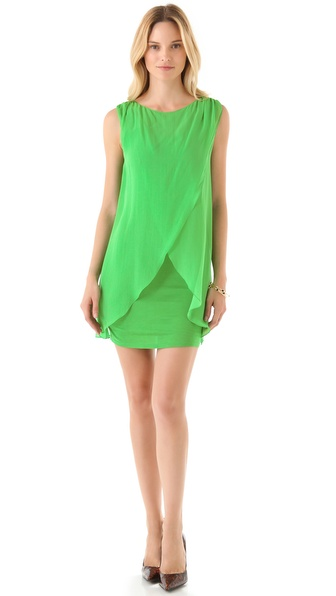 alice + olivia Cross Front Dress