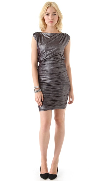 alice + olivia Alysha Ruched Dress
