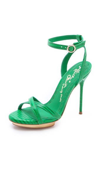 alice + olivia Paola Strappy Sandals