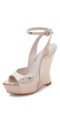 alice + olivia Denny Wedge Sandals at Shopbop.com