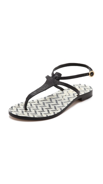 alice + olivia Bria Thong Sandals