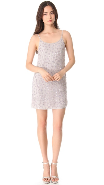 alice + olivia Beaded Russel Slip Dress