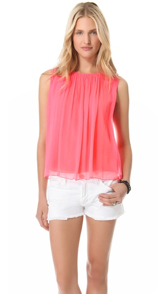 alice + olivia Gathered Tank