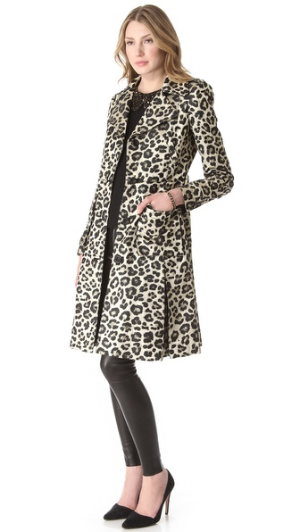 alice + olivia Charla Trench Coat
