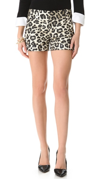 alice + olivia Cady Cuff Shorts